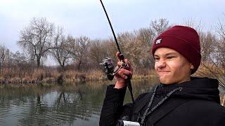 Ламповая рыбалка с сыном на малой реке | Рыболовный поход