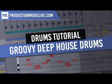 Ableton Live Tutorial: Producing Groovy Deep House Drums Live 9 Deep Premium Vol. 1 [no comment]