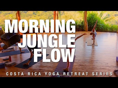 Morning Jungle Flow Yoga Class - Five Parks Yoga - Yoga Retreat Series