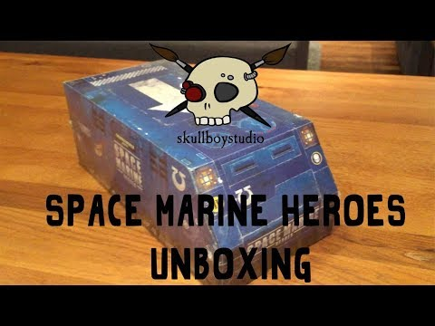 Space Marine Heroes - Unboxing