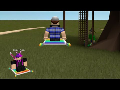 Playing With The Owner Of Piggy In Roblox Mini Toon Youtube