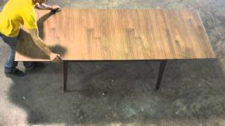 Walnut Draw Leaf Table