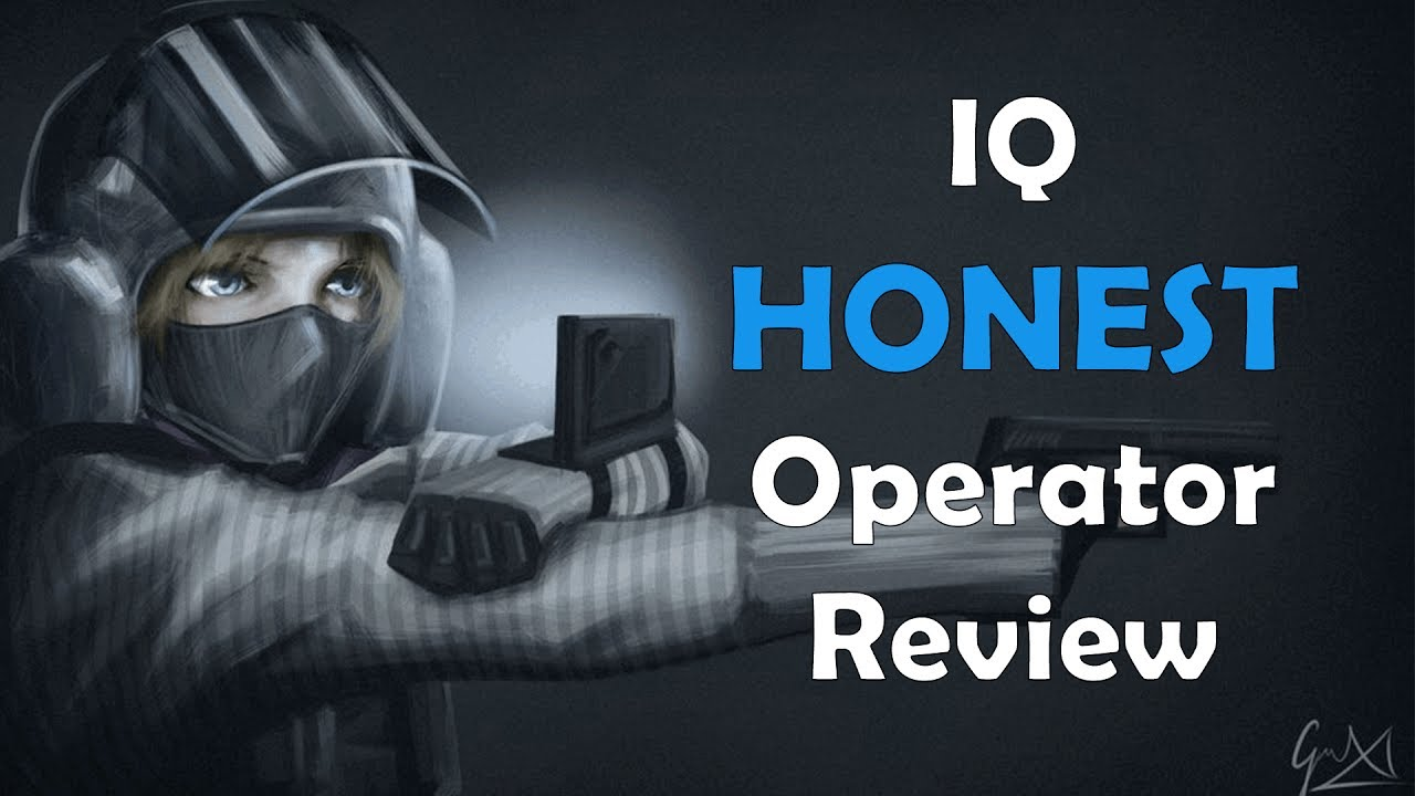 Rainbow Six Siege: IQ | Operator Video #16 - YouTube