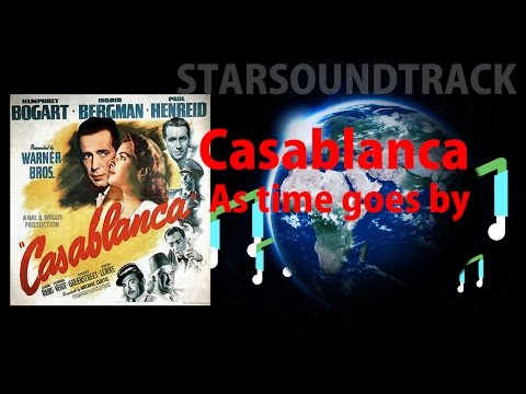 Casablanca - As Time Goes By - The 100 Greatest Film Themes