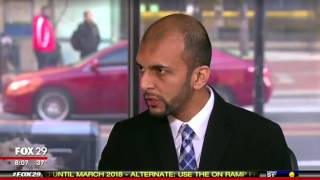 Qasim Rashid appears on Fox 29 to address anti-Muslim violence