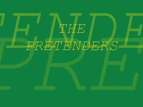 THE PRETENDERS   KID slow version