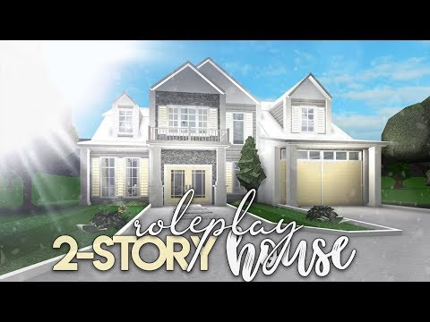 Roblox Bloxburg 2 Story Roleplay House House Build Youtube