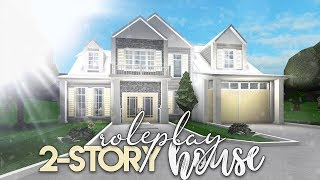 Roblox   Bloxburg: 2 Story Roleplay House   House Build