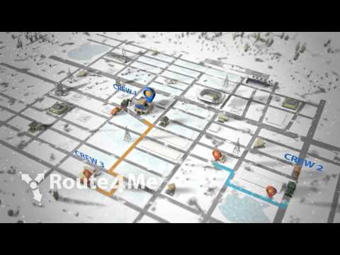 Route4Me Route Optimization - Snow Cleaning and Removal Routes