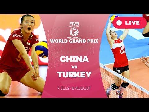 China v Turkey - Group 1: 2017 FIVB Volleyball World Grand Prix