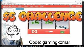 csgo-case $5 challenge