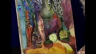Уроки рисования (№ 58) акварелью. Рисуем натюрморт из бутылок
