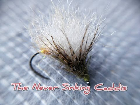 tying The Never Sinking Caddis - deadly for trout and grayling