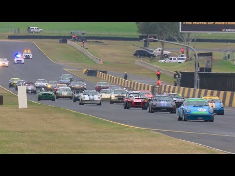 Historic Sports Car Racing Group S Race 3 Sydney Classic Speed Festival 2017