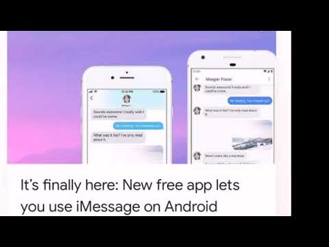 IMessage For Android FULL HOW TO APP!! FINALLY!