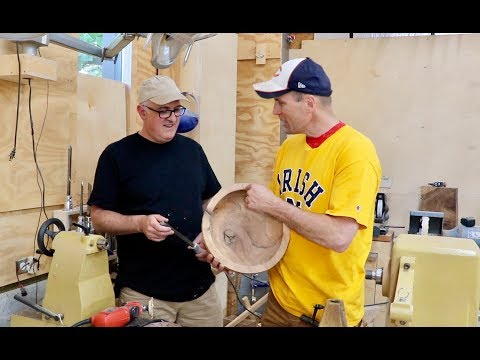 Modern and Traditional Wooden Bowl Making Techniques by Frank Howarth & Chop With Chris