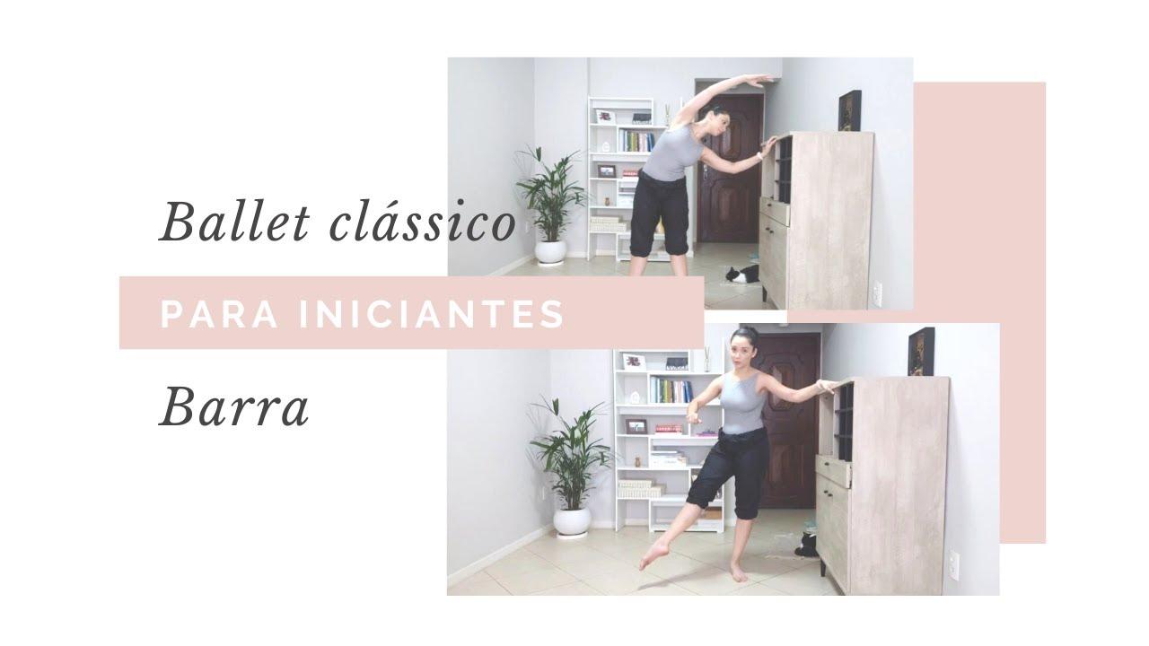 AULA DE BALLET CLÁSSICO PARA INICIANTES