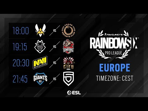 Rainbow Six Pro League - EU - Season X - Playday #9