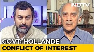 """Hollande Claim Latest In Chain Of Events That Point To Feku Government"": Arun Shourie"