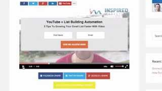 Simple Video Press | YouTube Publishing + List Building Automation