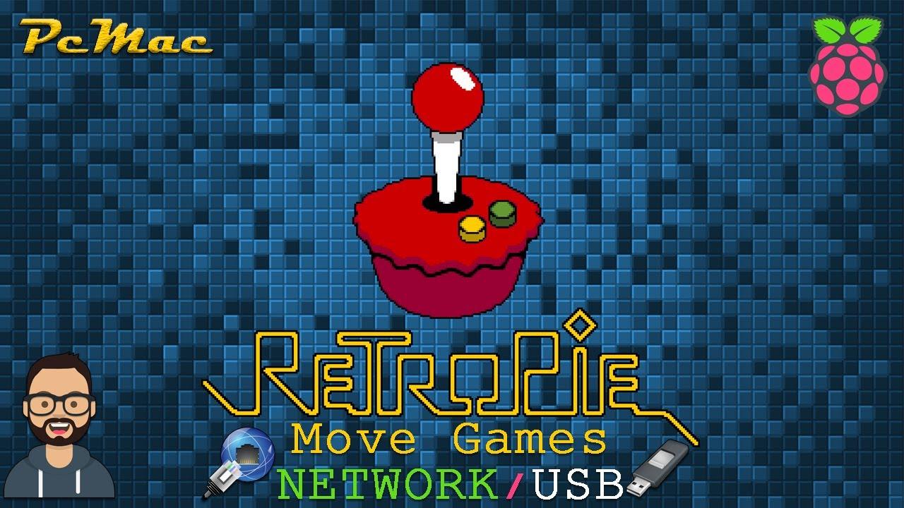 RetroPie Move Game Roms USB/Network