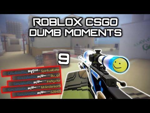 Roblox Csgo Dumb Moments 9 Hacker Edition Youtube