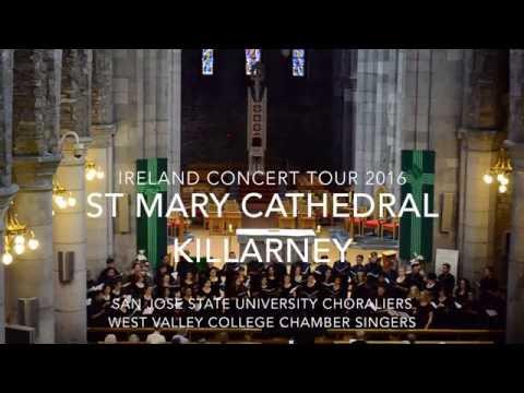 San Jose State University & West Valley College Ireland Concert Tour