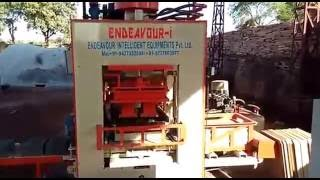 Automatic Fly Ash Bricks Making Machine / ENDEAVOUR-iF1500 / 1500 Bricks per Hr