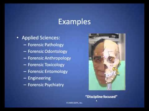 what is forensic science youtube