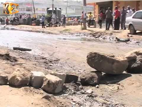 Kitengela Residents Fear Contracting Cholera From Open Sewers