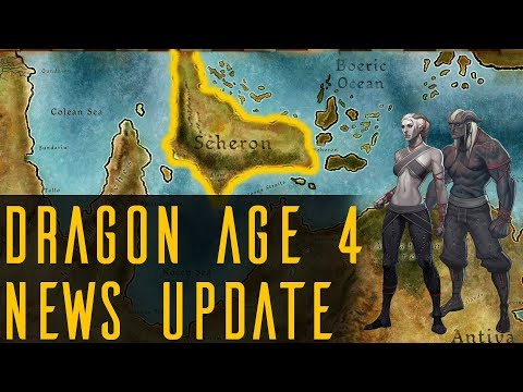 Dragon Age 4 News Speculations | Map Confirmed? No more Cullen? Qunari Focus & More!