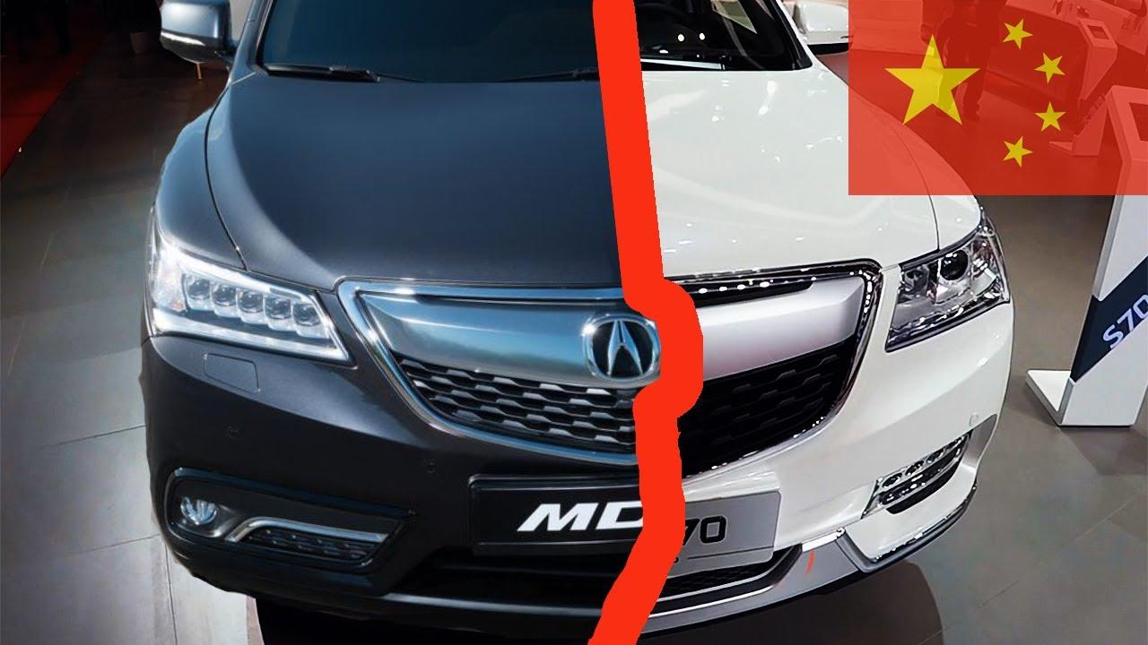 НАГЛАЯ КОПИЯ Acura MDX! Китайская Акура в 2,5 раза ДЕШЕВЛЕ! Jinbei S70(Die Zi) + ОПРОС в конце