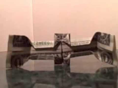 Dollar Origami Ring Dime