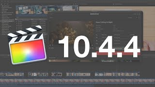 Everything New in Final Cut Pro 10.4.4!