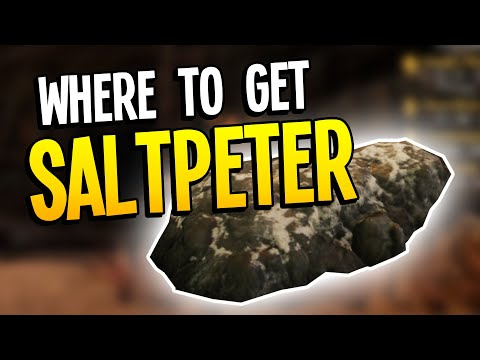Where to get Saltpeter in New World   Saltpeter Locations