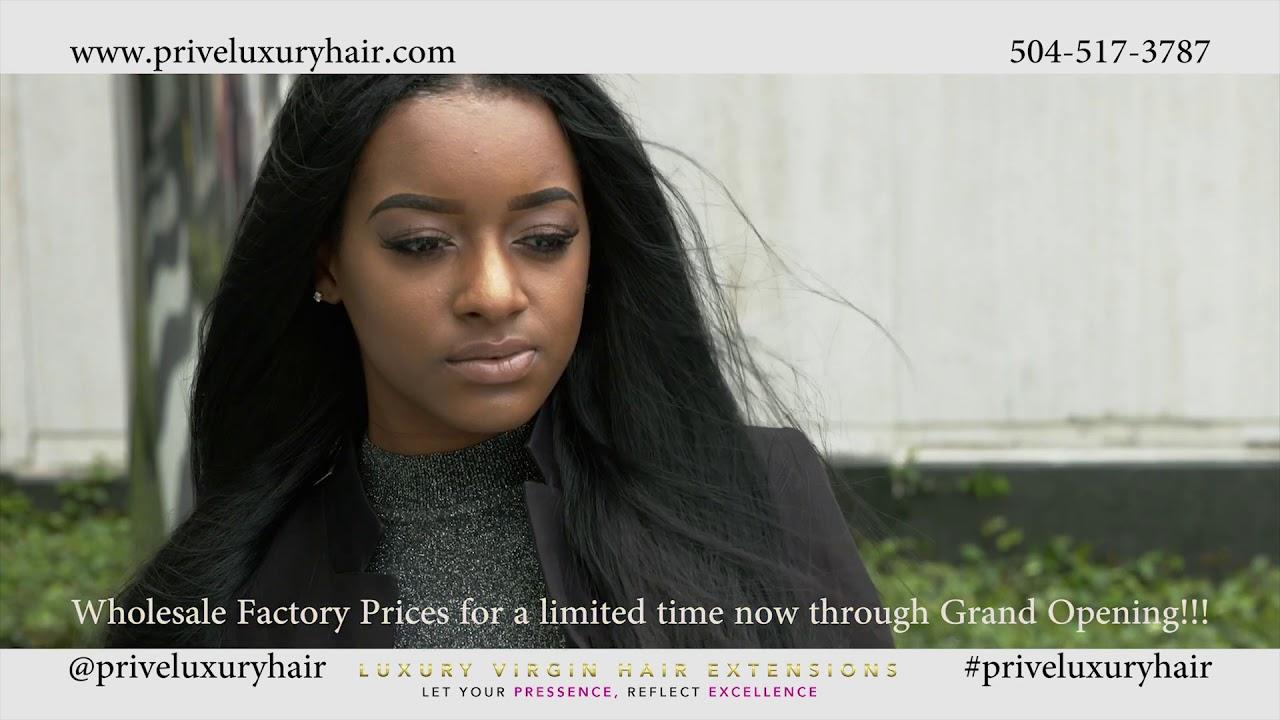 Prive luxury virgin hair extensions grand opening commercial prive luxury virgin hair extensions grand opening commercial pmusecretfo Choice Image