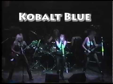 Female Guitarist Shredmistress Rynata Archives Kobalt Blue DNA Lounge, San Francisco, early 90s