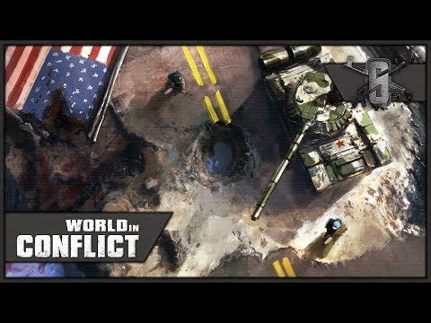Red Dawn! Invasion of Seattle - World in Conflict - Mission 2 (USA)