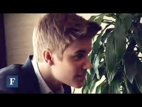 Justin Bieber- Behind The Forbes Cover Shoot 2013
