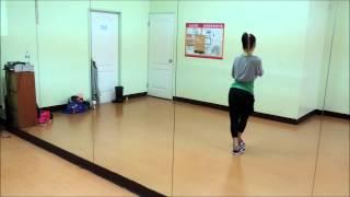 【Dance Tutorial】f(x)-Rum Pum Pum Pum 舞蹈教學01 by碗公