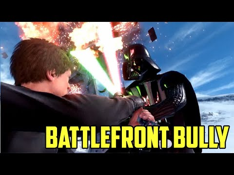 BATTLEFRONT BULLY! Holding My Team Hostage, The Epic Trickshot! Star Wars Battlefront Beta.