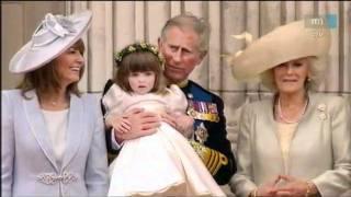 Prince William & Kate Middleton erkély jelenet - Királyi esküvő