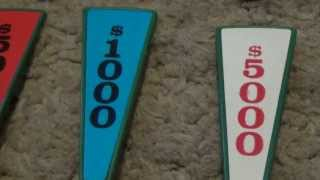 1986 Pressman Wheel of Fortune Deluxe Edition Board Game Review