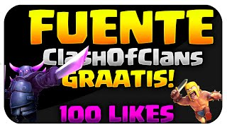 FUENTE SUPERCELL CLASH OF CLANS - OFICCIAL FONT FREE CLASH OF CLANS