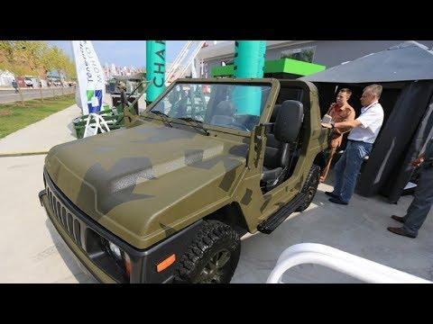 "Novo ""nevidljivo"" Vojno Vozilo Lada 4X4 - NOVITET!"