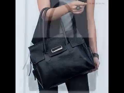 73089db718195 Bolsas femininas em couro direto da fábrica - YouTube
