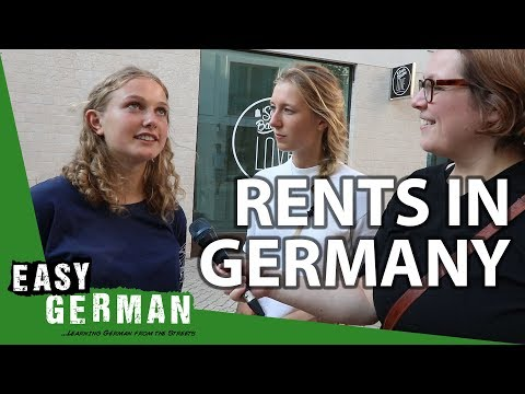 How Much Does It Cost To Rent A Place In Germany? | Easy German 257