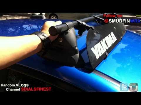 Subaru - How to Install a Roof Rack 2011 Subaru WRX/STI
