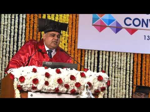 NIA PGDM Convocation 2016-2018 : Presidential Address by Shri G  Srinivasan