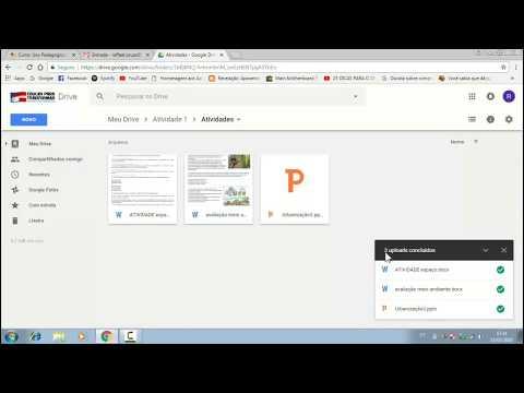 Curso UPTE: Google Drive, Atividade XXVI